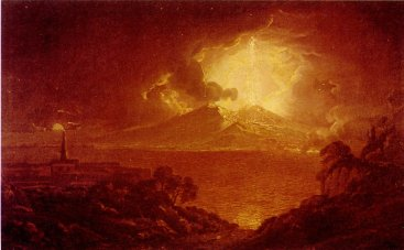 Eruption of Vesuvius, 1774 - Joseph Derby