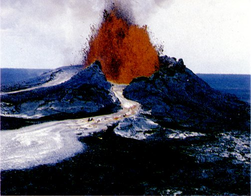 Kilauea's Pu'u 'O'o March 1984 eruption