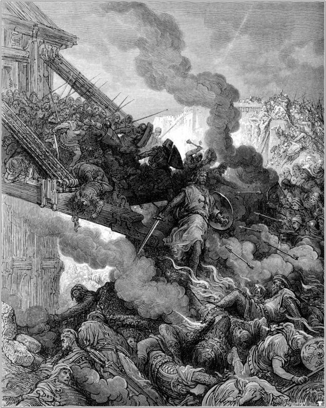 The Crusaders Besiege Jerusalem