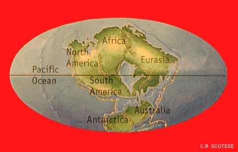 Possible Positions Of Continents In 250 Million Years